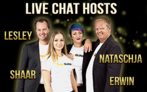 Onze chat hosts